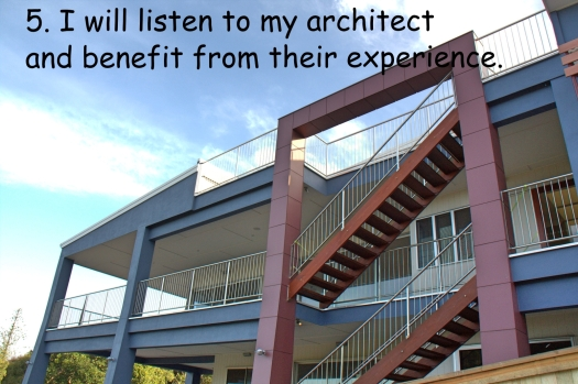 5. architect experience