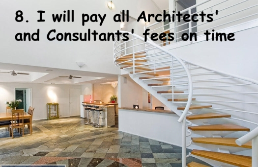8. pay architects
